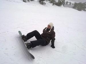 Annika im Schnee