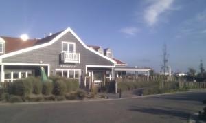Eingangsbereich Strandpark De Zeeuwse Kust