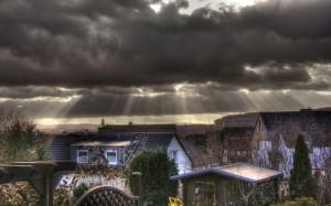 Schlecht-Wetter-Front