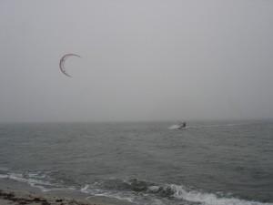 Heiligenhafen im dichten Nebel