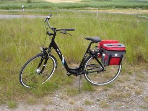 Annika's neues Fahrrad