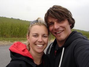 Annika und Ben beim Inselausflug