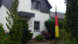 Deutschland-Fahne im Bali-Look