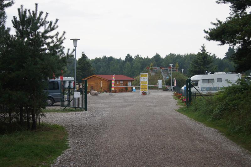 Zufahrt Wohnmobil Oase Prora