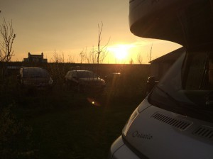 Sonnenuntergang Hindeloopen